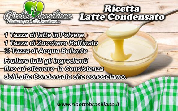 Latte Condensato Ricetta Fai da te