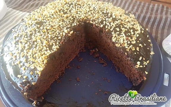 Torta al Cioccolato Senza Latte e Uova