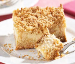 torta di farofa con crema