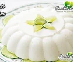 Ricetta Mousse al Lime