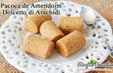 Pacoca de Amendoim (Dolcetto Di Arachidi)