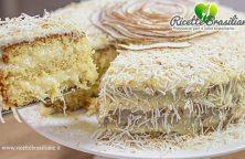 Torta Cocada paulista (Torta di cocco)