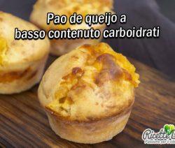 Pao de queijo a basso contenuto carboidrati