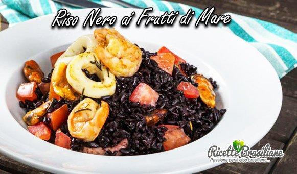 Riso Nero ai Frutti di Mare