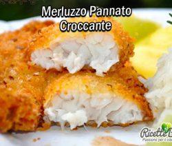Merluzzo Pannato croccante