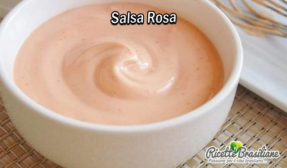 La Salsa Rosa, nota anche come Salsa Cocktail